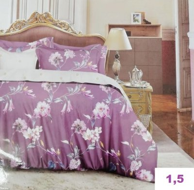 Комплект постельного белья.(1,5-спальный)