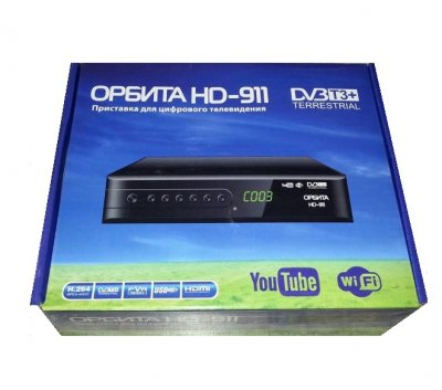 Приставка для цифрового телевидения Орбита HD-911 DV3 T3+