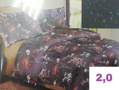 Комплект постельного белья.СВЕТИТСЯ В ТЕМНОТЕ! (2,0)