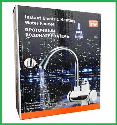 Кран-Водонагреватель Instant Electric Heating Water Faucet с индикатором температур (LED)