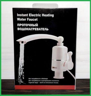Проточный электрический водонагреватель Instant Electric Heating Water Faucet.