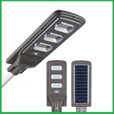 Водонепроницаемая уличная лампа на солнечной батареей лампа с датчиком движения.