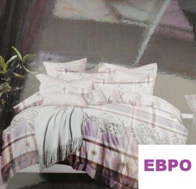 Комплект постельного белья.ПОПЛИН! (ЕВРО)