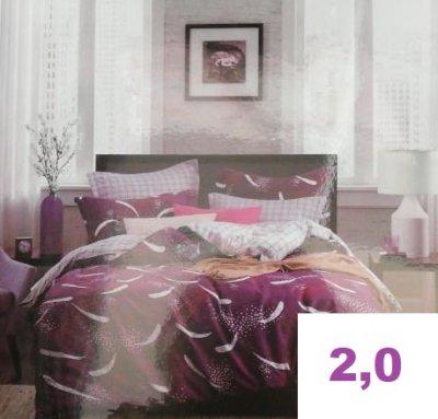 Комплект постельного белья.ПОПЛИН! (2,0-спальный)