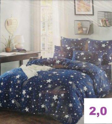 ТЁПЛЫЙ ХЛОПОК.Комплект постельного белья.(2,0-спальный)