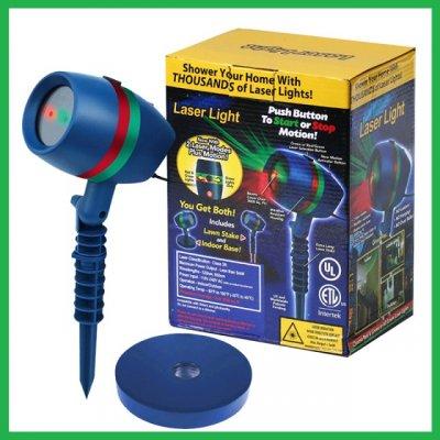 Лазерный проектор Звездный дождь Laser Light