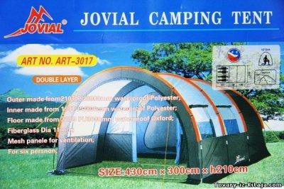 Туристическая палатка Jоvial 3017