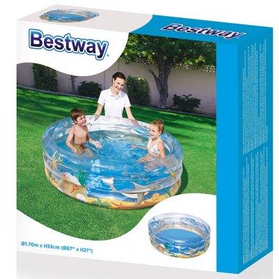 Детский бассейн Bestway МОРСКАЯ ЖИЗНЬ!